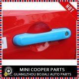 Cubierta azul material de la maneta de puerta del estilo del ABS del accesorio auto para el modelo renegado (4PCS/SET)