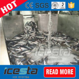 Fábrica de gelo industrial Energy-Saving da pasta refrigerar de ar