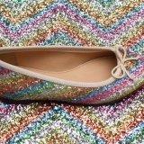 Heiß-Verkauf Funkeln PU-Leder für Schuhe (HS-M238)