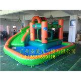 De opblaasbare Opblaasbare Piraat Jacky Water Slide van de Pool van de Dia van het Water