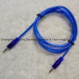 Estereofonia de la alta calidad 3.5 a cable estéreo de 3.5 Plug/AV