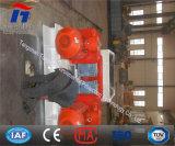 Verwendete doppelte Rollen-Zerkleinerungsmaschine für die Kiesel-Zerquetschung