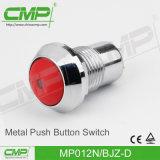 12mm Metalldrucktastenschalter mit hohem Kopf und verriegeln Funktion