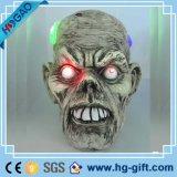Modelo Lifesize realístico Halloween médico da resina do 1:1 humano da réplica do crânio da anatomia