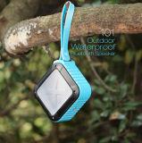Haut-parleur sans fil portatif imperméable à l'eau de Bluetooth de forme carrée mini