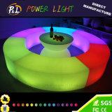 Цвет изменяя СИД освещает вверх напольную мебель
