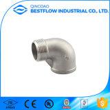 Ss 316 304 accessori per tubi filettati dell'acciaio inossidabile