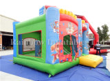Castillo inflable modificado para requisitos particulares combinado, casa animosa del encerado del PVC