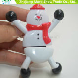 Hot Sale Snowman Squishy TPR Toys Animals Plastic Sticky Toys