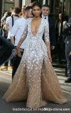 L'usager de bal d'étudiants de lacet habille les robes de soirée de célébrité de Champagne A3001