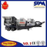 Beweglicher Steinzerkleinerungsmaschine-Preis, kleine bewegliche Zerkleinerungsmaschine
