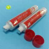 Les tubes en cuir de crème de soin de tubes de tubes de tubes cosmétiques en plastique de compression ont feuilleté des tubes