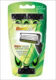 Hojas de afeitar de seguridad una pista de la maquinilla de afeitar de la maquinilla de afeitar del tiempo (SL-3105)