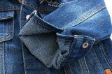 La mode de ressort de vêtements d'enfants badine la jupe de denim estampée par garçons