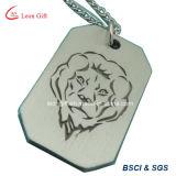 Etiqueta de encargo del animal doméstico/de perro del metal del esmalte de la insignia de la fábrica