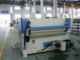 Gummirolle, die PLC-Steuerleder-Ausschnitt-Maschine führt