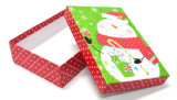 Rectángulo de papel del regalo de la Navidad para el presente