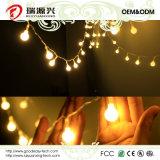Weihnachtsdekoration-Licht für LED-Kugel-Zeichenkette-Licht