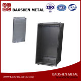 Piezas de maquinaria modificadas para requisitos particulares de la fabricación de la producción del metal de hoja para el rectángulo/el shell de Eletrical