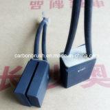 spazzole di carbone della grafite di alta qualità E107 per il motore