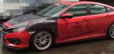 Aile de roue avant de carbone pour le 10ème de Honda Civic X