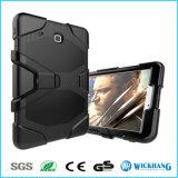 Hybrider Shockproof schwerer Gummistandplatz-Kasten für Samsung-Galaxie-Tabulator-Tablette