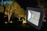 Outdoor IP65 Waterproof 100W LED Floodlight Nova lâmpada de projeto de inundação