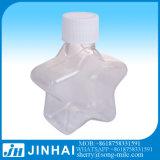 botella del animal doméstico de la estrella 60ml con el tapón de tuerca fino del rociador de la niebla