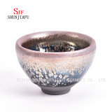Porcelana &#160 de Dehua; Teacup cerâmico da argila da bacia do chá do esmalte de Tianmu
