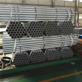 Tubo galvanizado estándar BS1387 para el agua