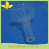Cateter descartável do silicone da urina da forma do preservativo para o macho