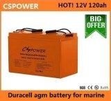 Батарея геля Cspower 12V120ah для хранения солнечной силы