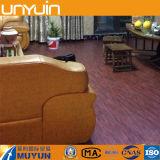 W-4高品質の建築材料PVC床タイル、ビニールの床木質