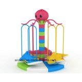 Juego suave de los cabritos de interior del parque del patio del oscilación de la diapositiva de los niños