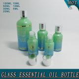 5ml, 10ml, 15ml, 20ml, 30ml, 50ml, 100ml Botella de aceite esencial de vidrio verde Precio
