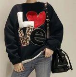 로고를 가진 여가 Pollover 주문품 스웨터 Hoody