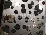 Piatto laminato a freddo dello strato dell'acciaio inossidabile per colore acquaforte dello specchio 8k della decorazione