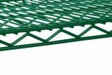 Het Groene Epoxy Met een laag bedekte Opschortende Rek van de Draad van het Metaal van de Opslag van het Pakhuis van het Staal DIY (HD214878A6EW)