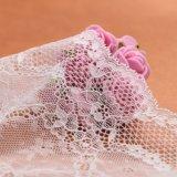 Robes de mariage florales blanches de lacet de modèle de mode belles