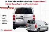 Kundenspezifische Fahrzeug-Rückseiten-Kamera für Peugeot-Experten
