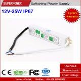 一定した電圧12V 25W LED防水切換えの電源IP67