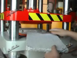 Presse à mouler hydraulique pour la pierre traitant en matériau de construction