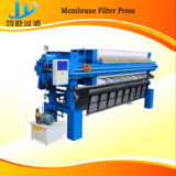 O PLC controla a máquina da imprensa de filtro da membrana de Autoamtic com sistema de lavagem de pano automático