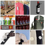 HD2059 puntuales - Alta calidad de EAS ropa Shoplifting antirrobo etiqueta dura de Seguridad