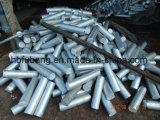 Venta de aleación de aluminio de extrusión de barra de 6063 con un precio razonable