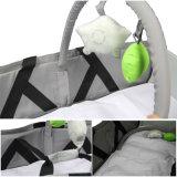 Gefalteten beweglichen Baby-Arbeitsweg-Beutel, Baby-heraus Tür anreichern tragen Feldbett-Beutel