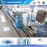 máquina de embotellado linear del agua de 450bph 3-5gallon