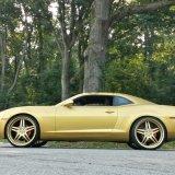 Пигмент перлы естественной слюды золотистый для красок автомобиля