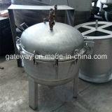 いろいろな種類の金属材料が付いている1500L未加工容器