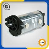 Double pompe hydraulique de pression de pompe de pétrole de vitesse